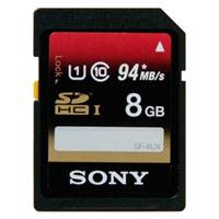 Карта памяти SD 8Gb Sony SD 8GB CL10(SF8UXT)